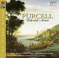 cd cover henry purcell: dido and aeneas