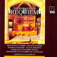 cd cover Haydn Requiem