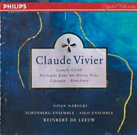 cd cover Vivier, Prologue pour un Marco Polo
