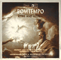 cd cover Bomtempo, Kyrie and Gloria